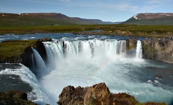 Godafoss mellem Myvatn og Akureyri