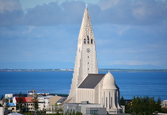 Hallgrimskirken, Reykjavik