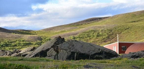 Lava ved Reykjalid, Myvatn