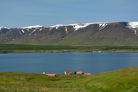 Mellem Godafoss og Akureyri