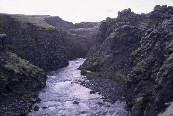 Mod Landmannalaugar, 1988