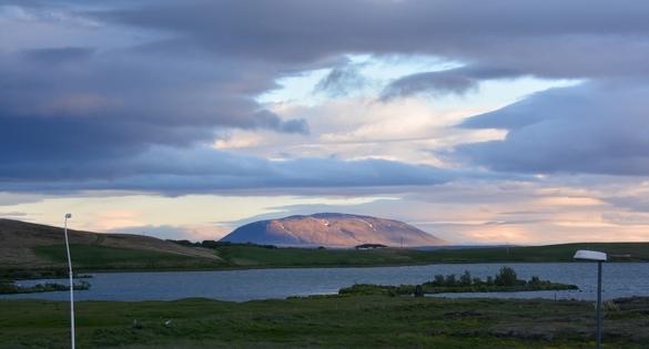 Myvatn ved Reykjalid