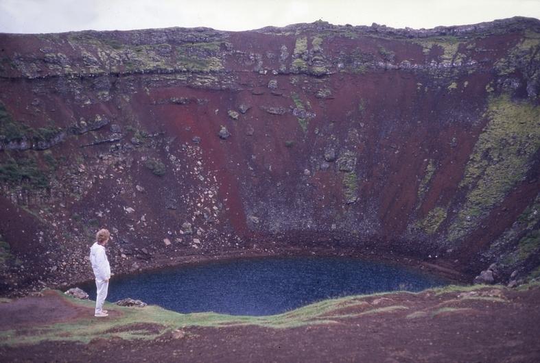 Kerid vulkanen ved Reykjavik