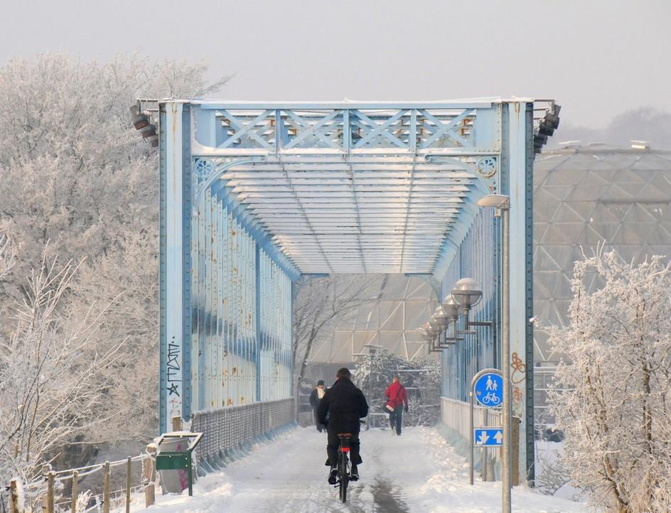 Den blå bro i Randers