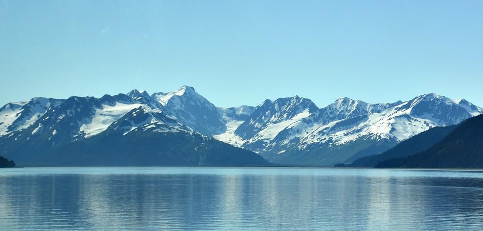 Mellem Seward og Anchorage