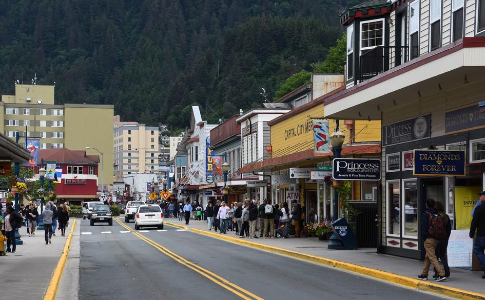 Franklin Street, Juneau