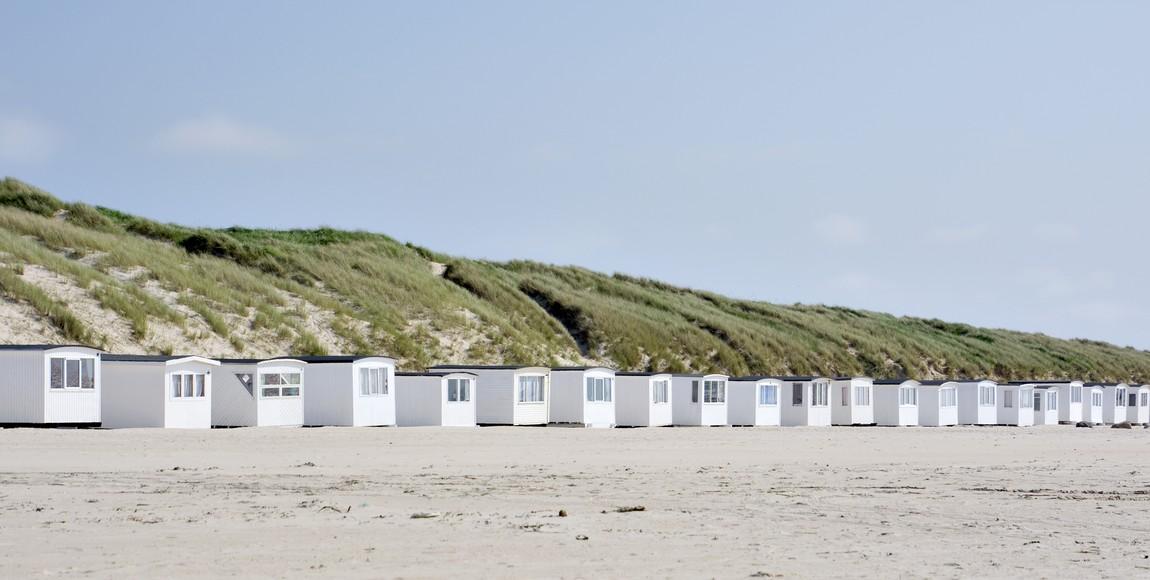 Badehuse, Løkken strand