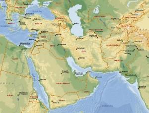 mellemøsten og centralasien