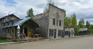 Permafrosttramte huse fra Klondyketiden (1898-1899), Dawson City