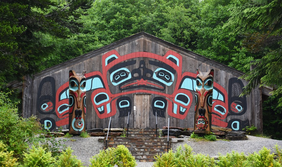 Tlingit-indianere, Saxman Native Village, Ketchikan