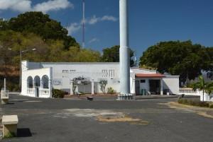 Resterne af Somozas palads og fængsel, Lomo Tiscapa, Managua