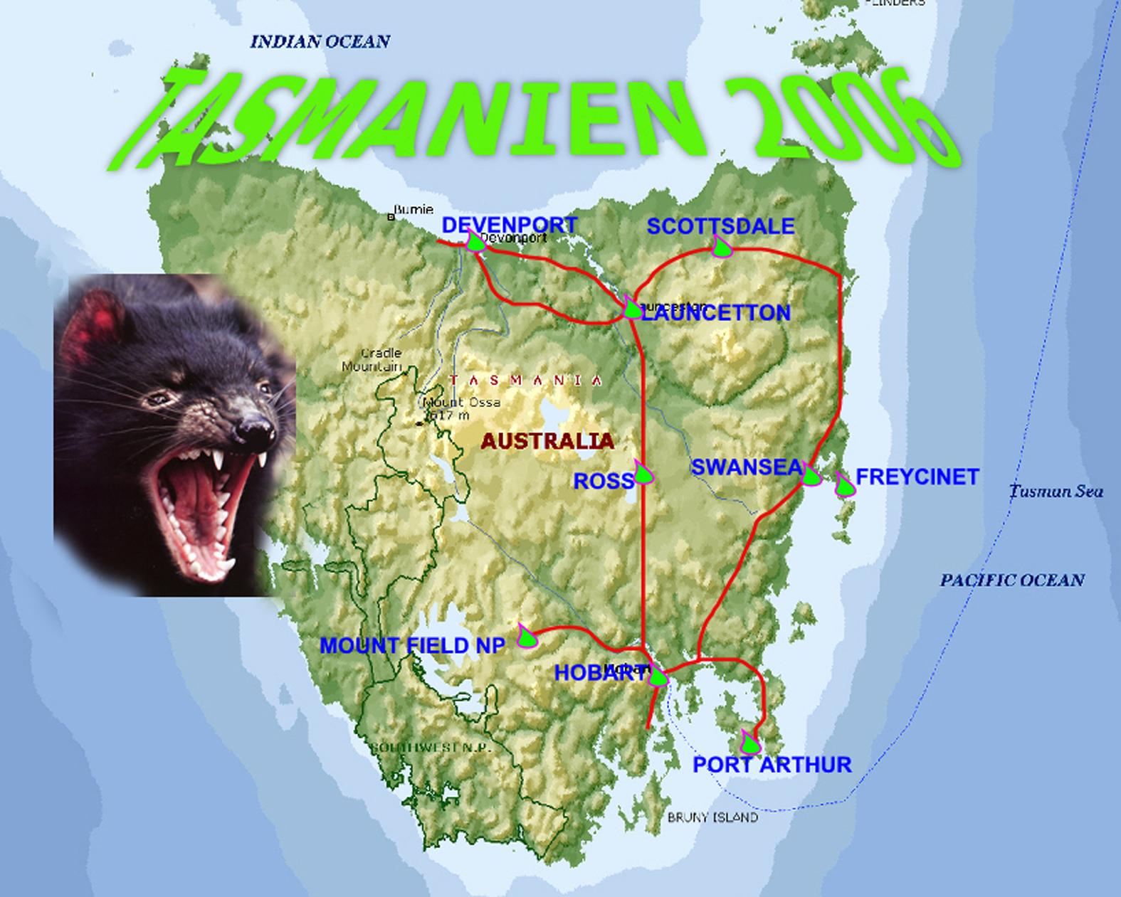 Tasmanien 2006