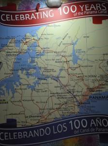 Kort over kanalen
