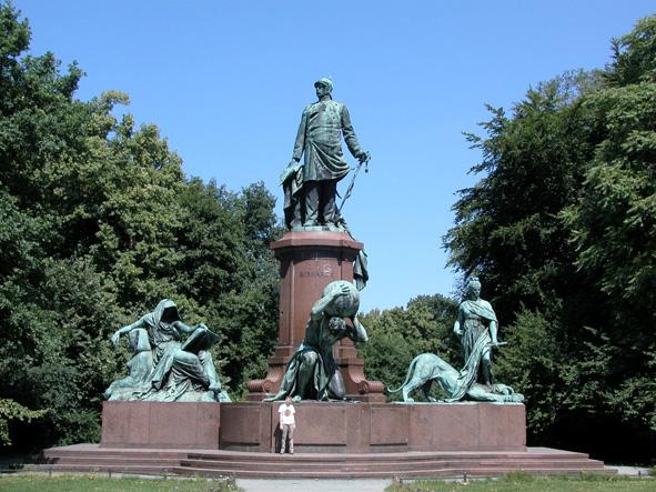 Otto von Bismarck, Tiergarten, Berlin