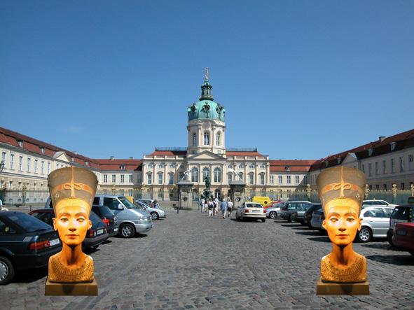 Charlottenburg, Berlin. Her lå indtil for få år siden det berømte ægyptiske museum, der nu er flyttet til museumsøen i det centrale Berlin