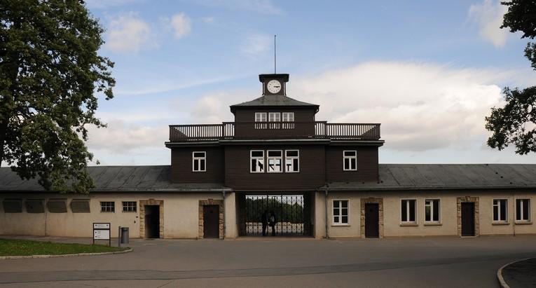 Koncentrationslejr Buchenwald ved Weimar
