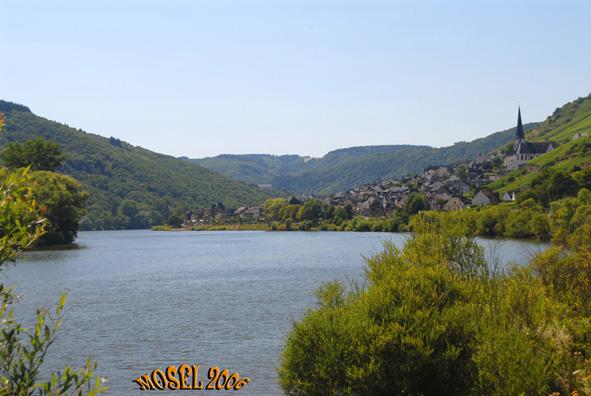 Mosel syd for Koblenz