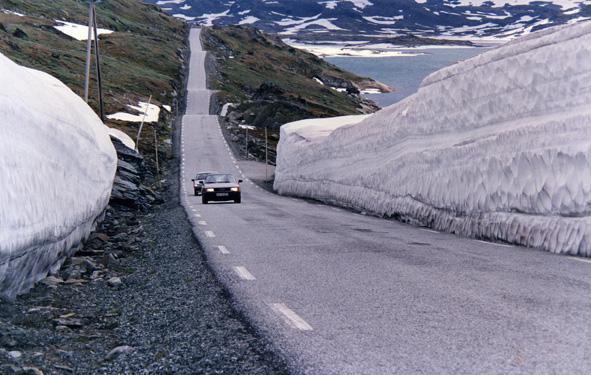 Sognefjellsvejen 1992