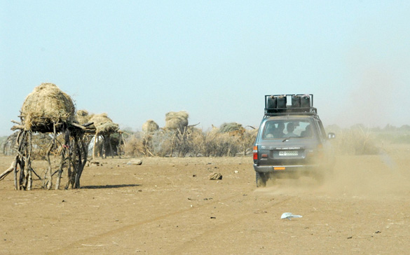 Dhasaneclandsby nord for Turkana-søen
