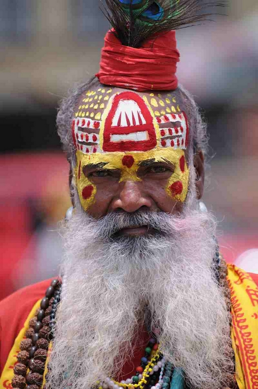 Hellig mand, Varanasi
