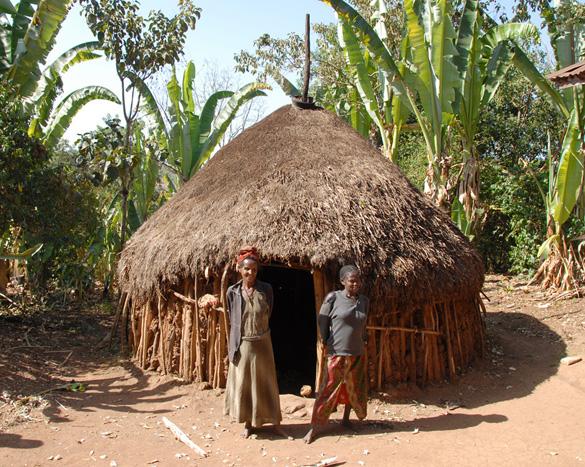 Landsby ved Aragesh Lodge