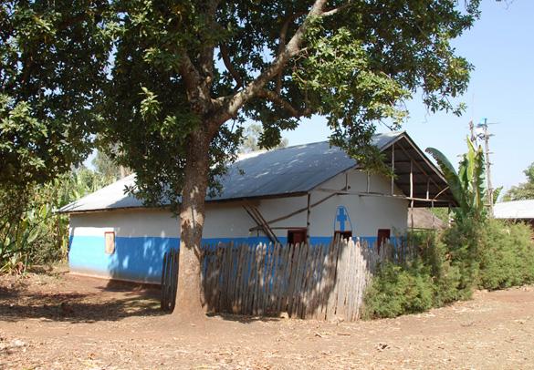 Landsbykirke ved Aregesh Lodge