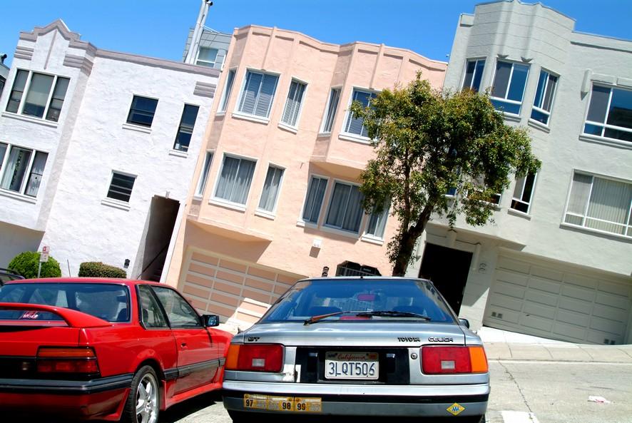 Den stejleste gade i San Francisco