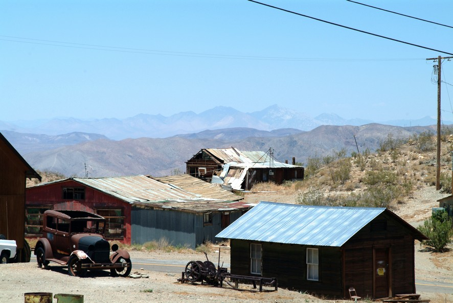 Ghost town, Californien
