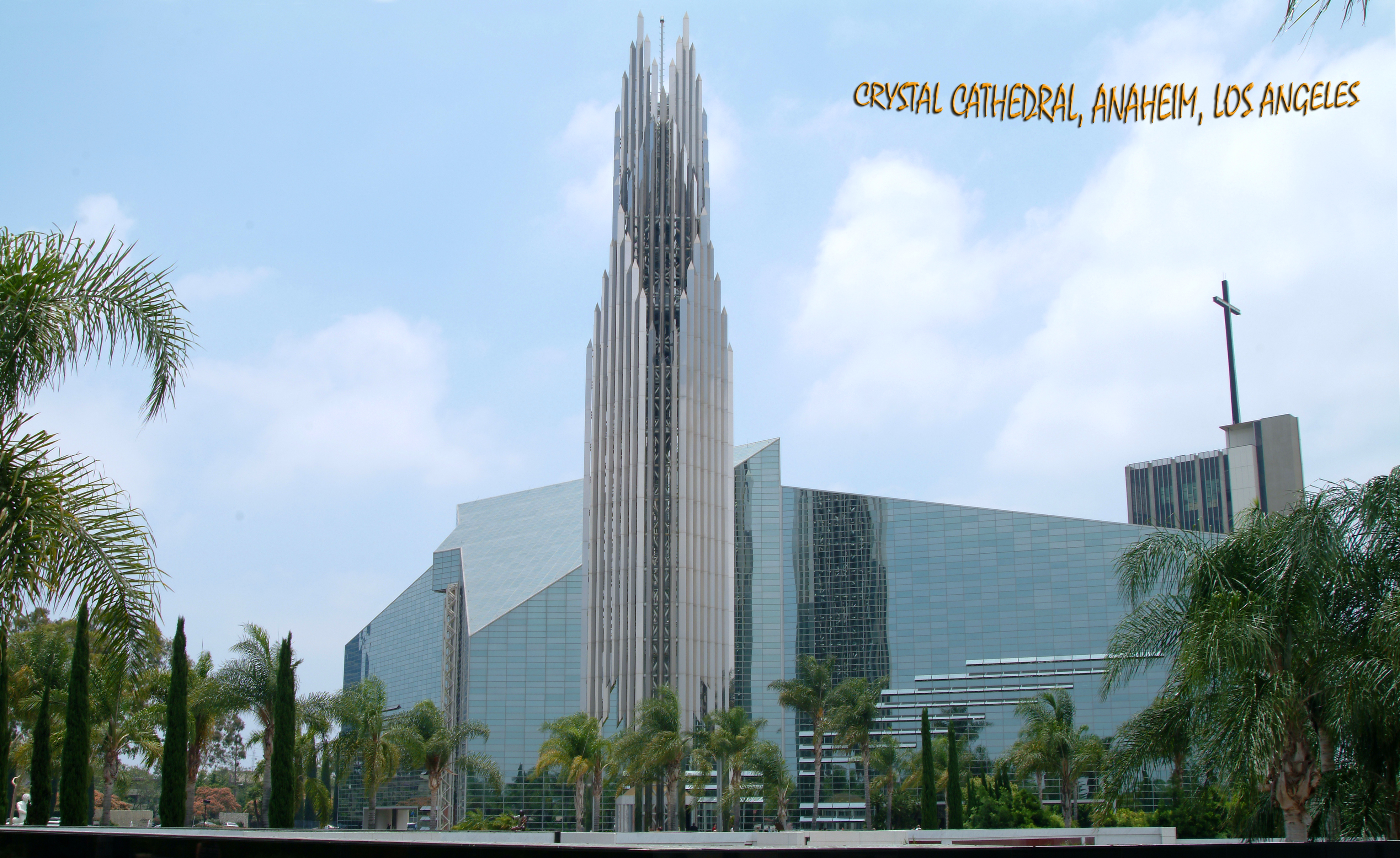 CRYSTAL CATHEDRAL, LOS ANGELES