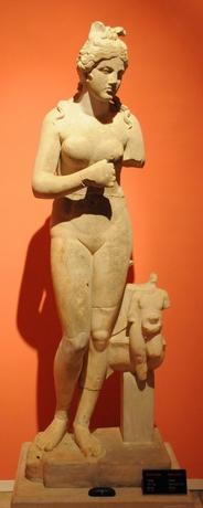 AFRODITE, MUSEET, ANTALIA