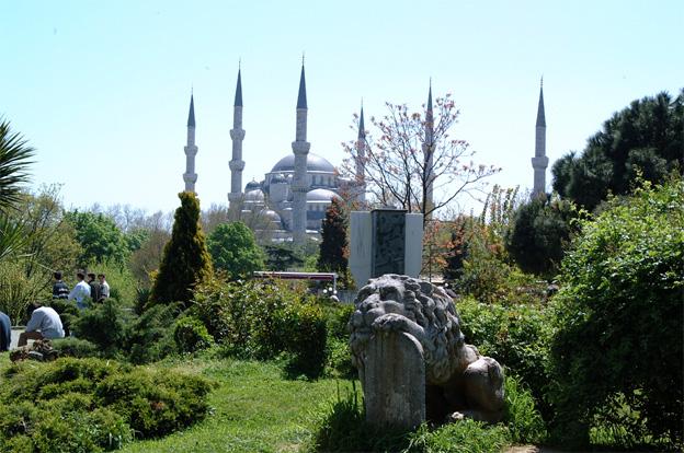Blå moské