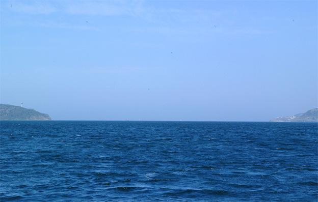Bosporus' udmunding i Sortehavet