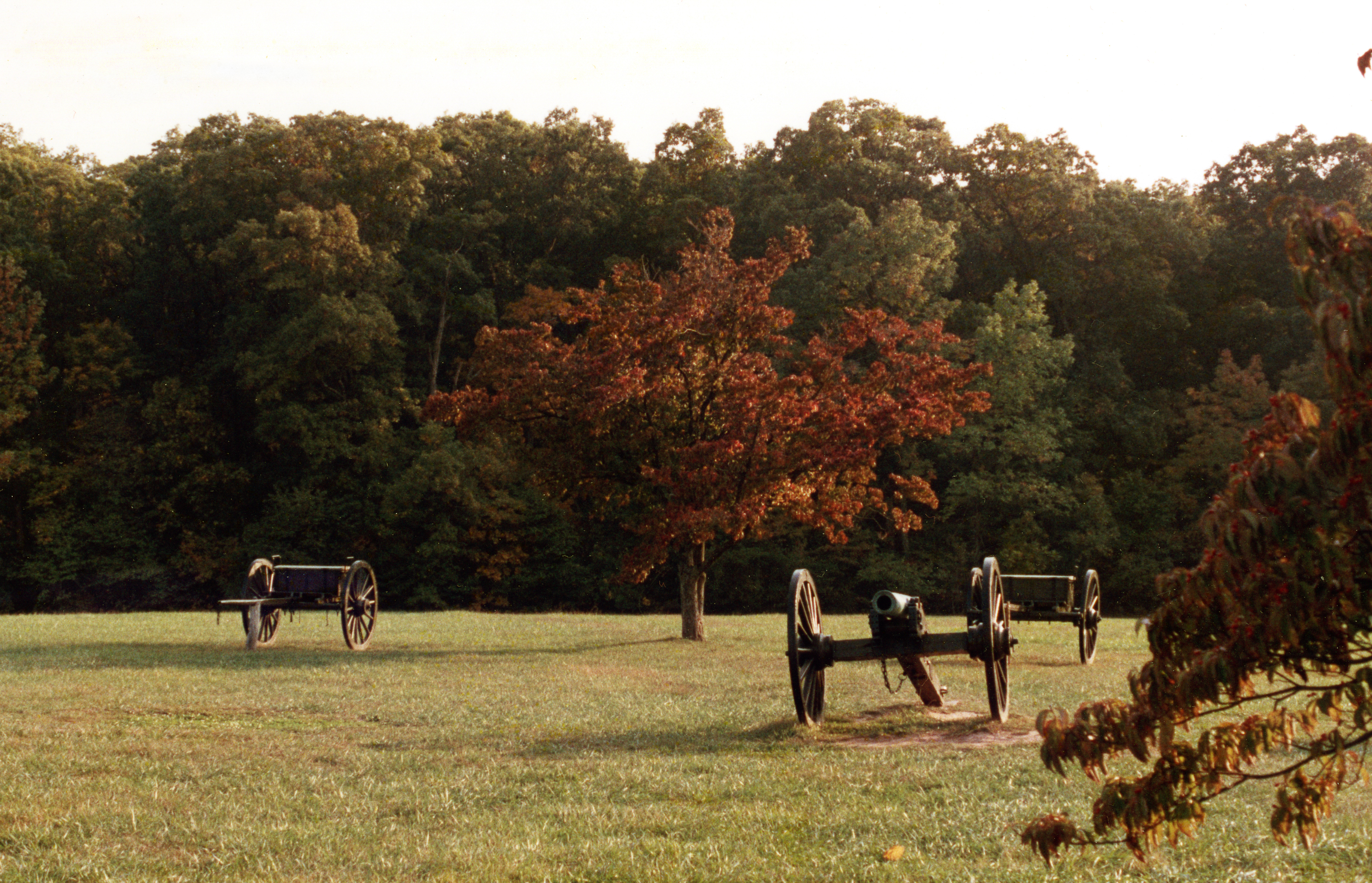 Bull Run syd for Washington D.C. Her stod det første slag i den amerikanske borgekrig i 1861
