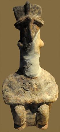 Canhasan, terra cotta, 6500 år fvt.,Chalcolitikum,  Museet for anatolske civilisationer, Ankara