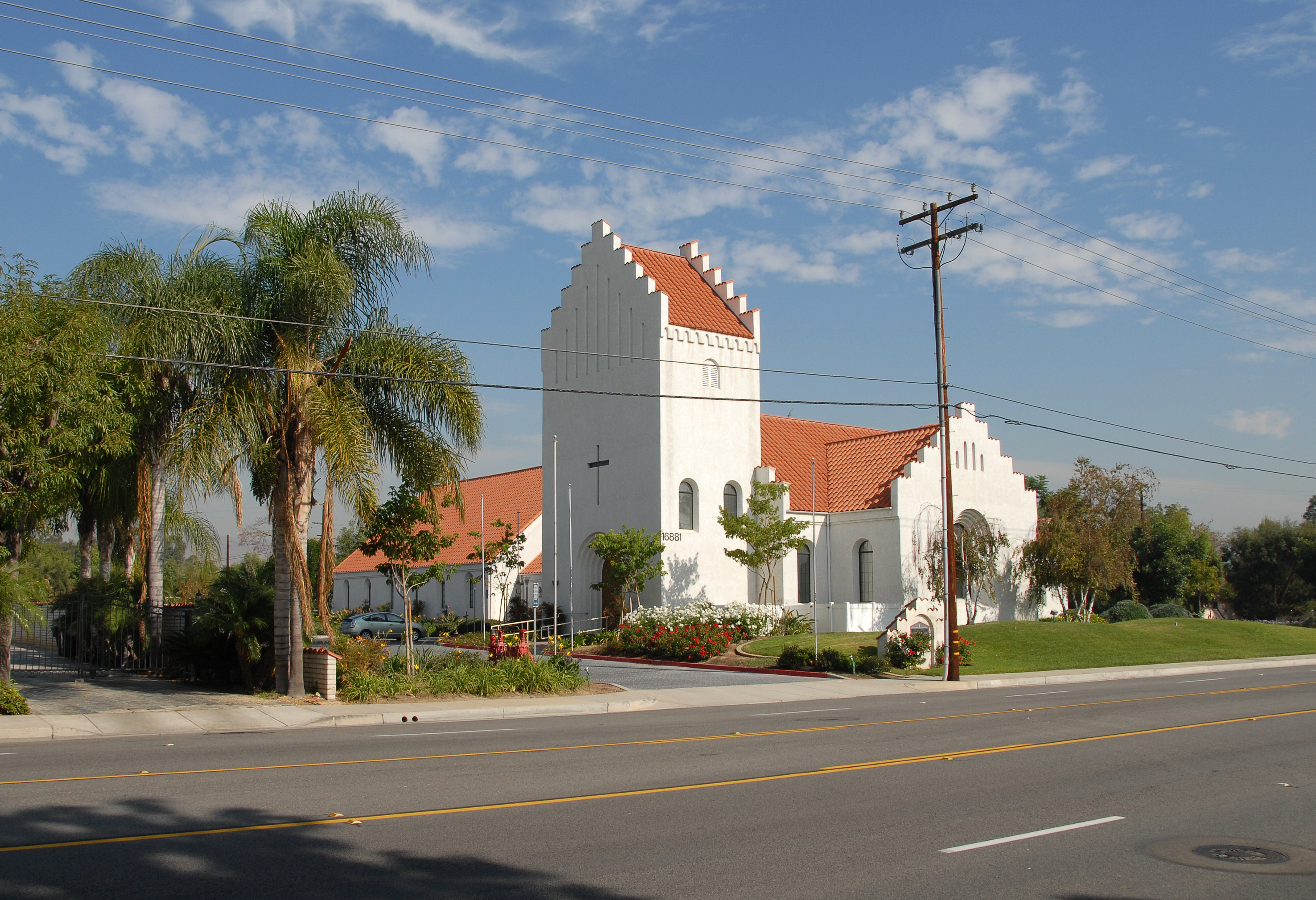 DEN DANSKE KIRKE, YORBA LINDA, LOS ANGELOS