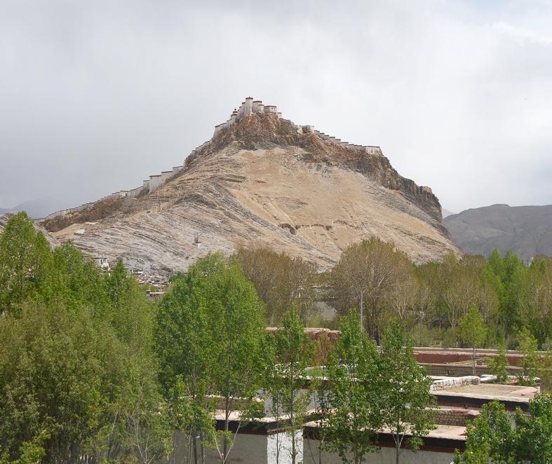 Fæstningen, Gyantse
