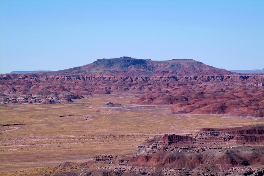 Den farvede ørken, Arizona