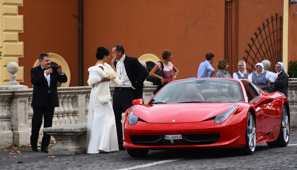 Ferrari-bryllup, Trastevere