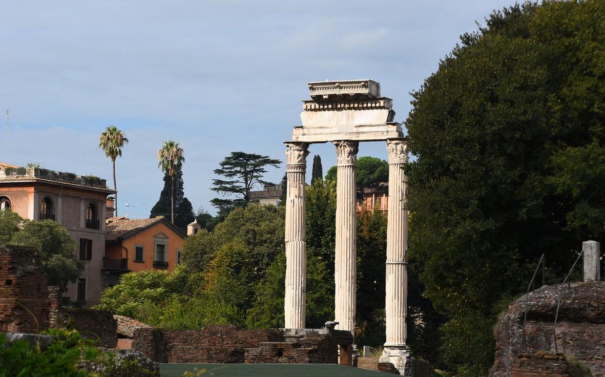 Forum Romanum, Castor og Pollux Tempelet