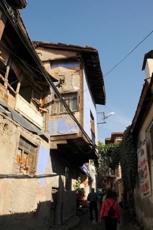 Det gamle Ankara indenfor citadellets mure