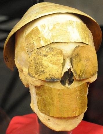 Guldmaske, 1950-1750 år fvt., Museet for anatolske civilisationer, Ankara