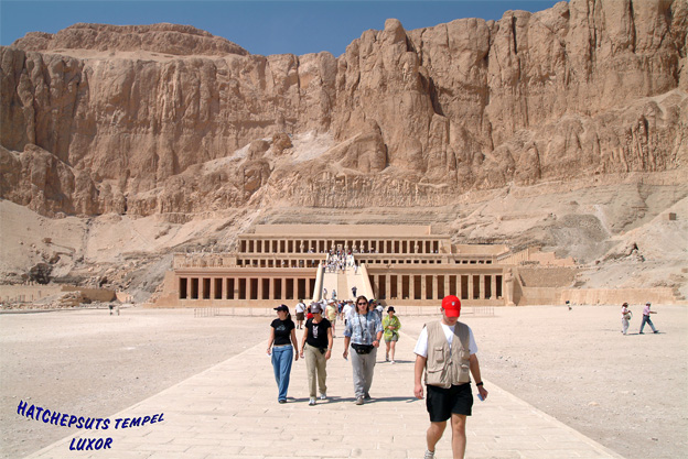 HATCHEPSUTS PALADS, LUXOR