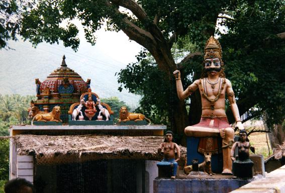 Hinduistisk helligdom, Sydindien