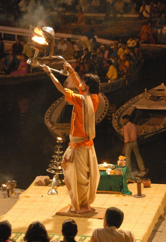 Hyldest til Ganges, Varanasi