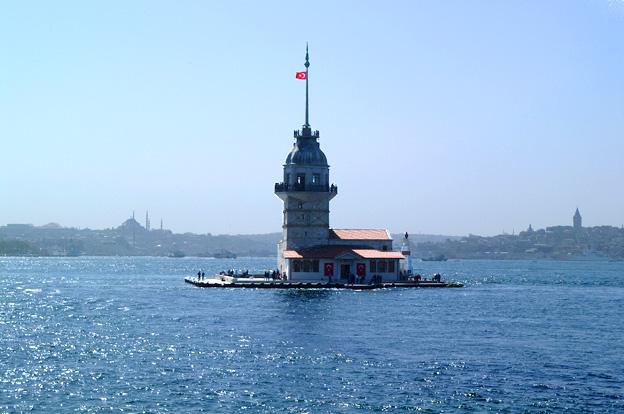 Jomfurtårnet i Bosporus-strædet
