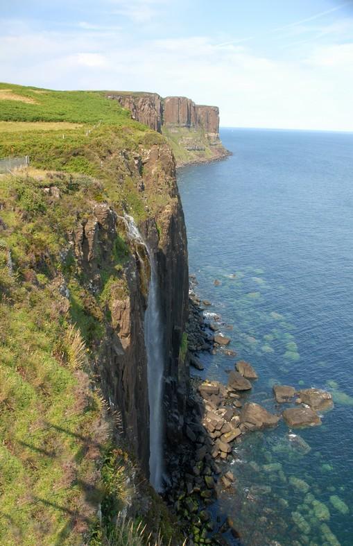 Kilt Rock med basaltsøjler, Isle of Sky