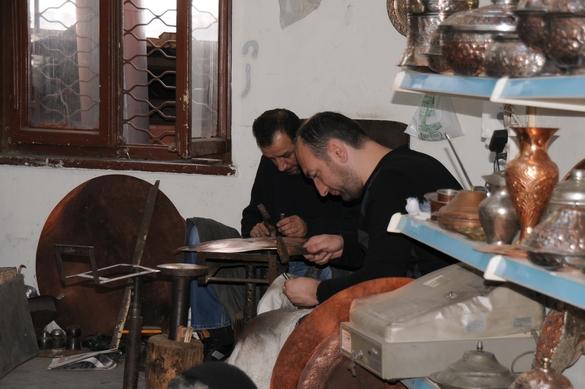 Kobbersmede, bazaren, Ankara