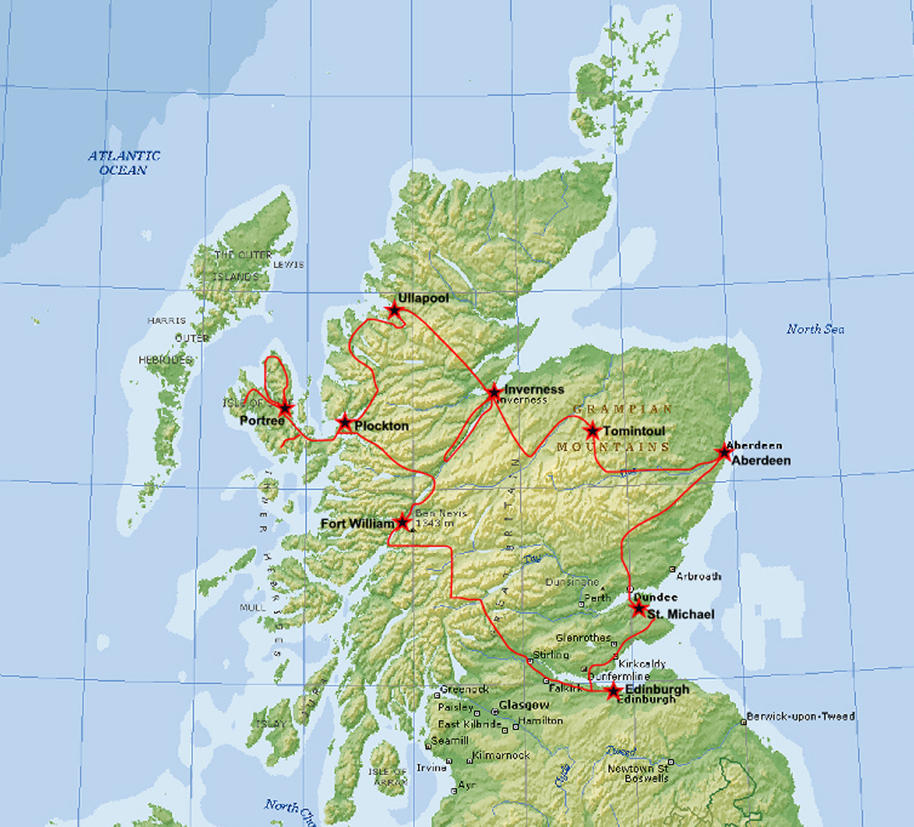 Skotland Vindue Til Verden
