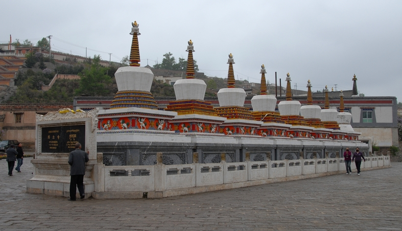 Kumbum klostret uden for Xining