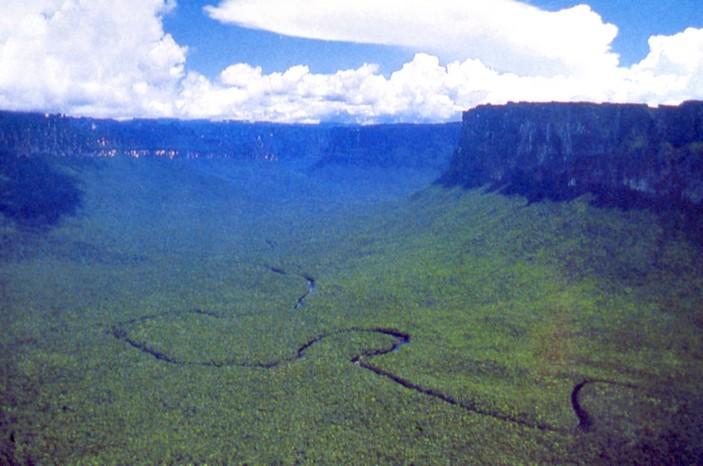 La Gran Sabana, Tablelands